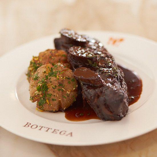 Napa Valley Chef Michael Chiarello's Cabernet-Smoked Short Ribs from Food & Wine magazine