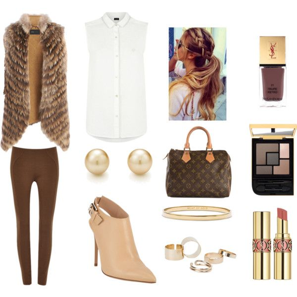 The brown tones of a casual day