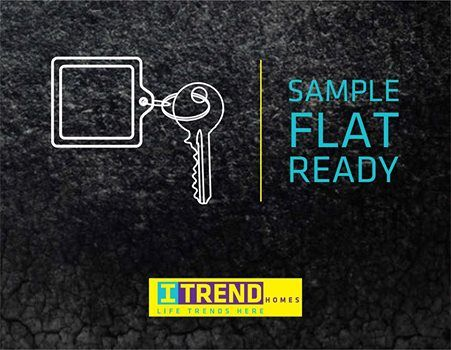 Sample Flat Ready!! Site Add: ITrend Homes, At S. No. 275/1 and 276/1, Mann, Hinjewadi. Mob: +91 9511951142 | www.itrendhomes.com