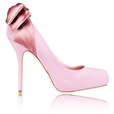 Dior ribbon pumps - crepe and satin $800 at Dior boutiques nationwide