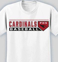 Baseball T-Shirt Designs for Your Team - Cool Custom Baseball Tees ...