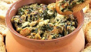 #Trempette chaude aux #artichauts et épinards #recettesduqc