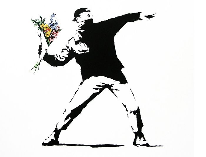 Bansky // one of my favorites
