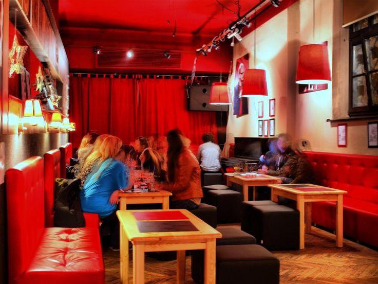 projekt wnętrz kawiarni- Rotunda w Krakowie