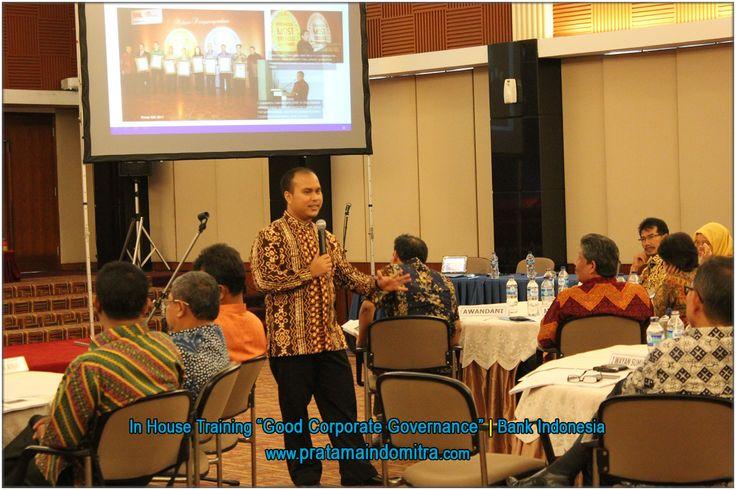 In-House Training GCG untuk Bank Indonesia bersama PIK