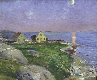 Eilif Peterssen (1852-1928): Sandø, 1899