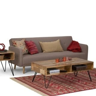 Shop for Wyndenhall Moreno Natural Mango Wood Coffee Table. Get free shipping at Overstock.com - Your Online Furniture Outlet Store! Get 5% in rewards with Club O! - 25015015