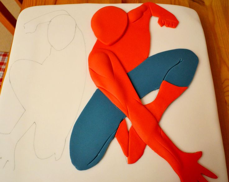 Deborah hwang cakes spiderman cake cake tutorial for Spiderman template for cake
