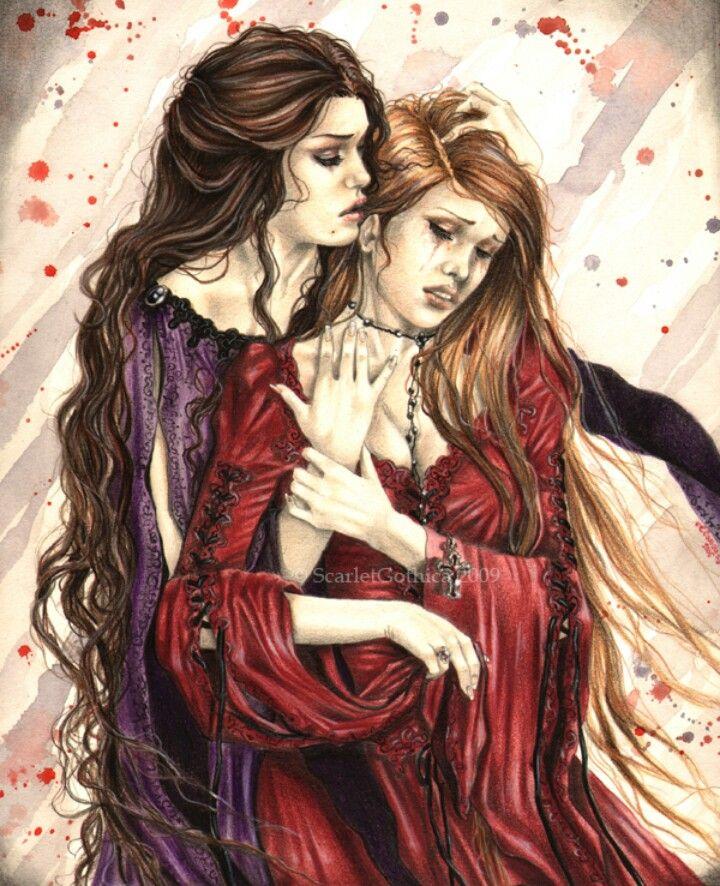Lesbian vampire novels by sheri wohl