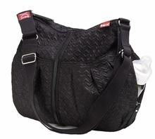 Babymel Amanda Black Quilted Diaper Bag