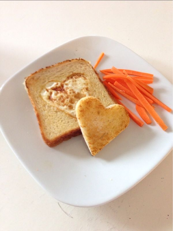 Easy lunch, egg sandwitch