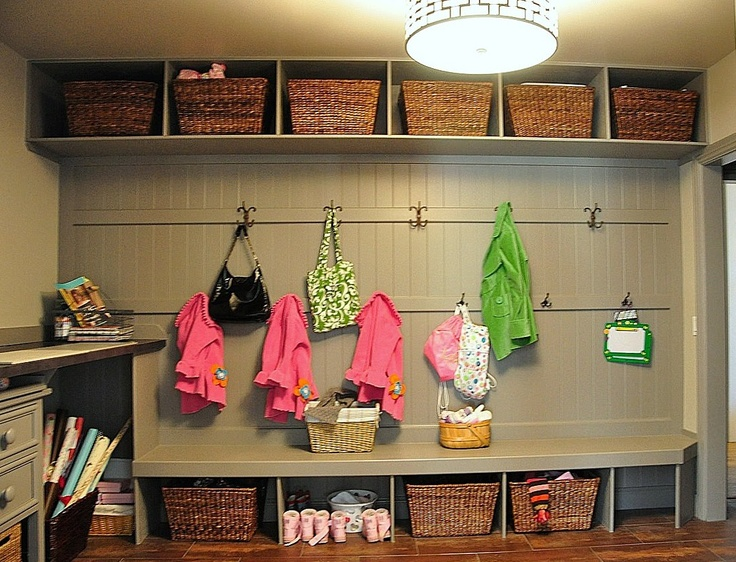 Perfect Mudroom Idea For Entire Family.
