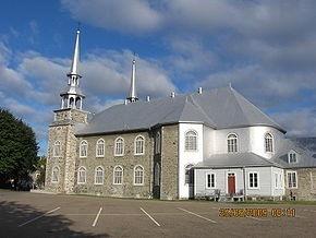 Eglise Deschambault, Grondines, Quebec, Canada