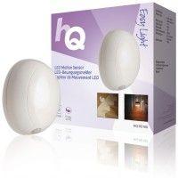 LED lys med bevegelsesensor kuleformet 0.5 W 40 lm, HQ