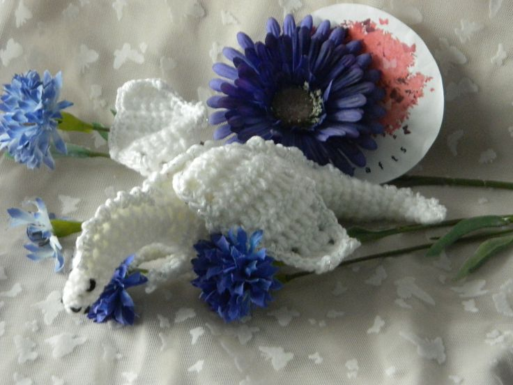 The White Dragon  WD1 by HeritageBabyCrafts on Etsy