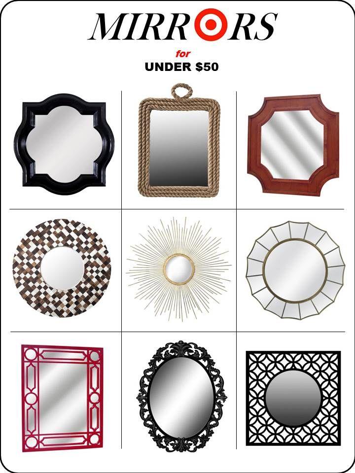 Interior Design Board Mirrors At Target Home Decor Online E