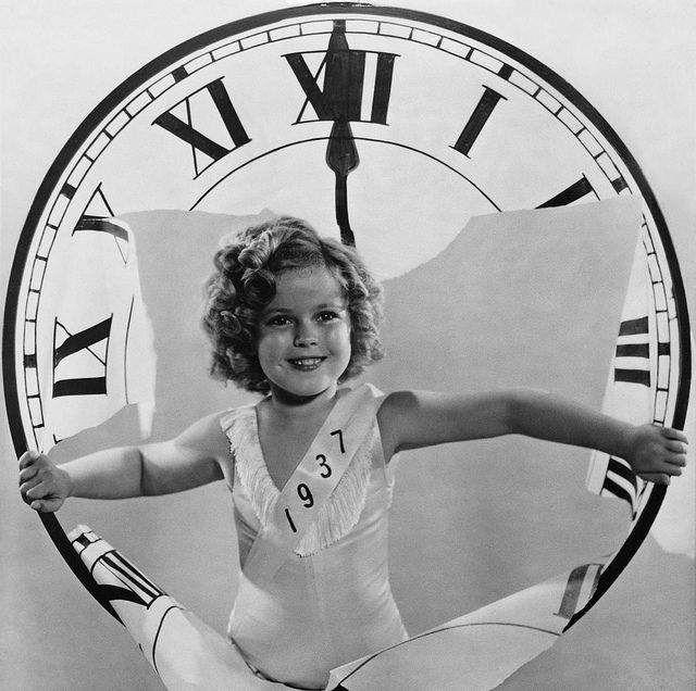 shirley temple new year 1937  by carbonated, via Flickr