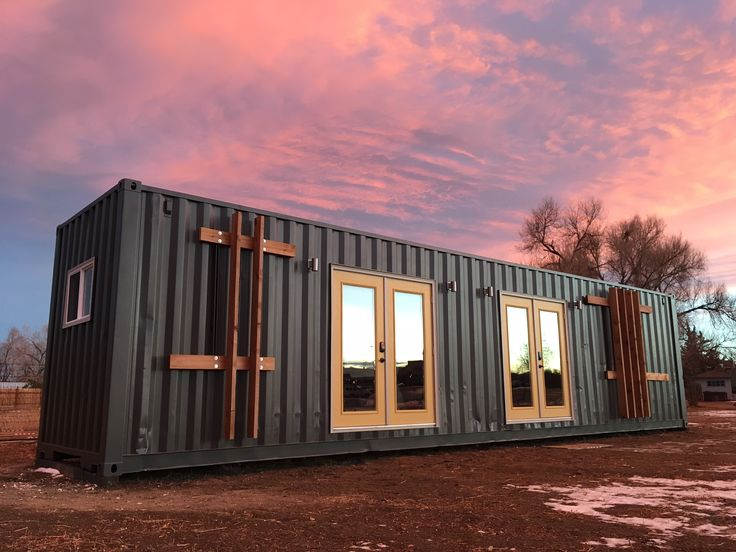 'The Intellectual' Tiny Home is a 40-foot container loaded with personality. Inspired by an experienced tiny homeowner who adds function and utility and a California designer who brings style and quality.