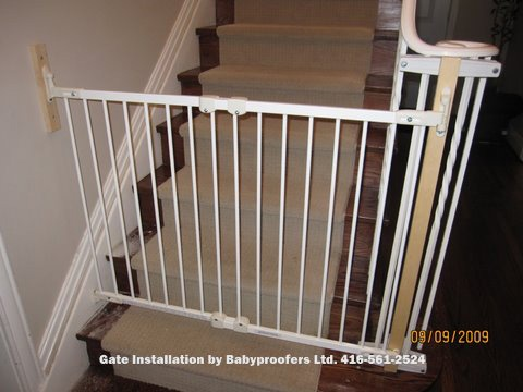 Specialty Brackets For Metal Rails To Baby Gate Baby Gates
