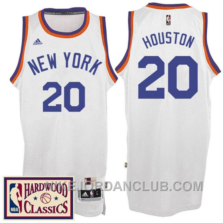buy popular 74307 6130a new york knicks 20 allan houston orange swingman throwback ...