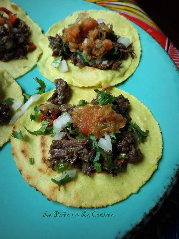 Slow Cooker Beef Barbacoa-Barbacoa de Res #tacoseveryday #RumbaMeats