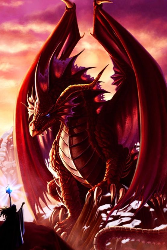 Red Dragon-Born in the year of the Dragon. <<--- I was born in the year of the dragon too!! -Raquel B