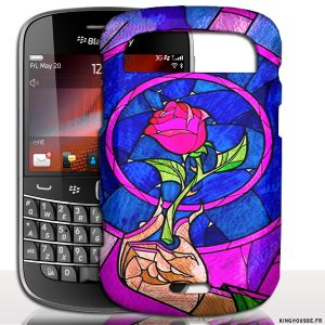 Coque BlackBerry Bold 9900 Belle et La Bete - Housse rigide portable #Coque #Case #BlackBerry #9900 #Disney #Belle #Bete