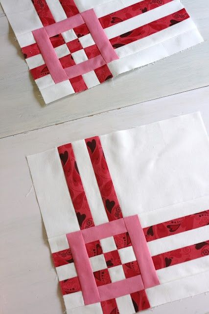 A Little Bit Biased--really cute block tutorial.