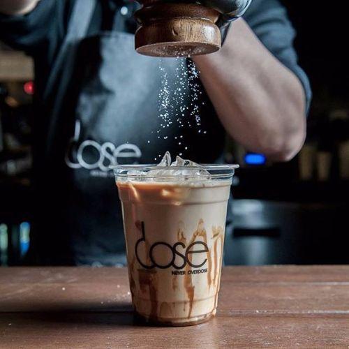 منشن اللي بيعزمك/تقييمكم دوز كافيه للقهوة المختصه اليوم