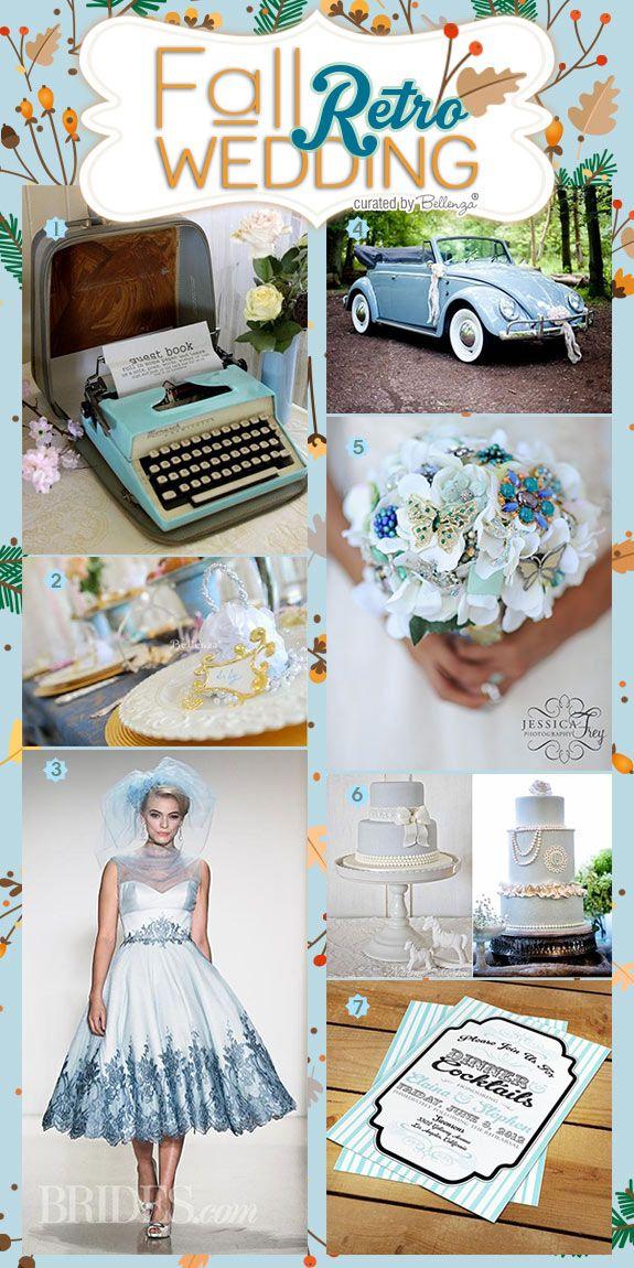 391 best RETRO 1950s WEDDING IDEAS images on Pinterest Unique