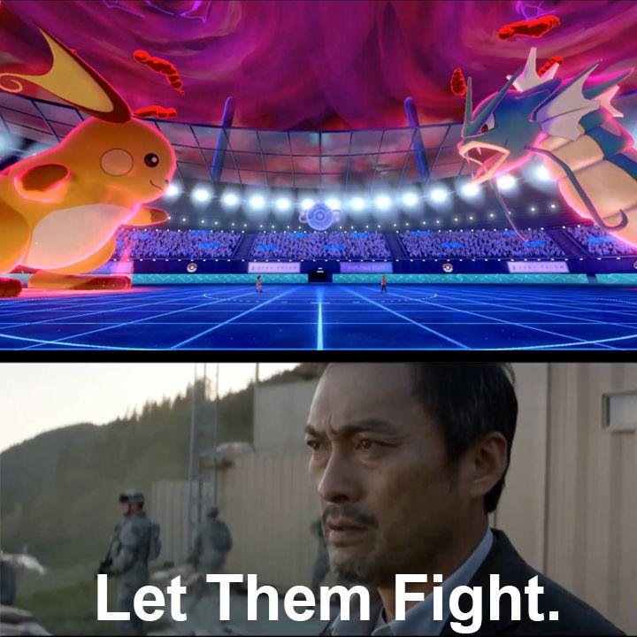 "pokemon sword & shield ""Let Them Fight"". | Pokemon, Fight ..."