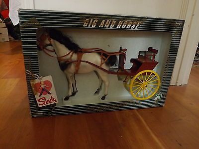 #Vintage pedigree #sindy horse gig and cart boxed #1970s,  View more on the LINK: 	http://www.zeppy.io/product/gb/2/321917689505/