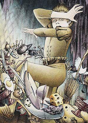 """The Sorcerer's Apprentice"", illustrated by Robin Muller."