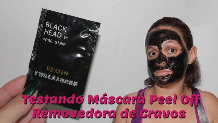 Dor e Sofrimento: Testando Máscara Black Head Pore Strip da PilAten | Ne...