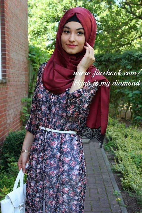 Hijab fashion .... this is definitely going to be one of my favorite pins for Hijab .