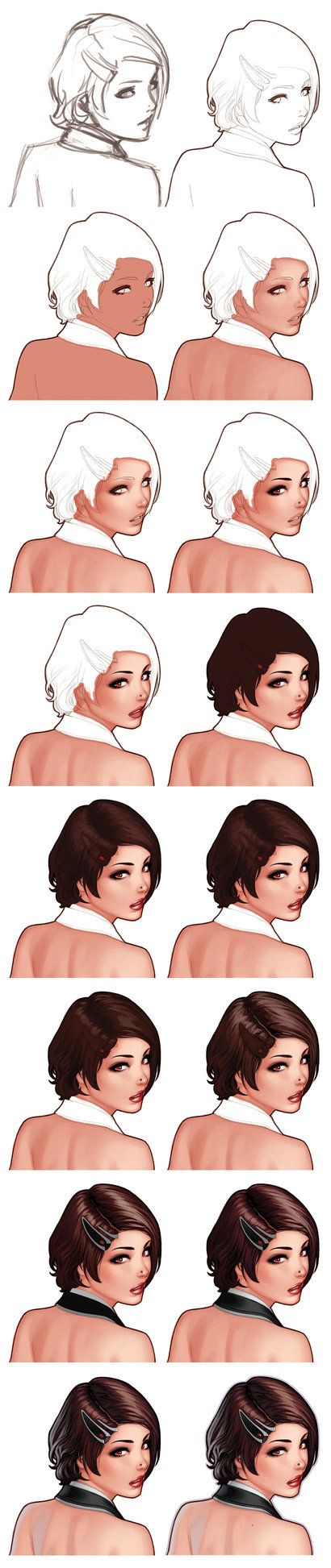 The Face Of Eva - Step By Step by ~WarrenLouw on deviantART