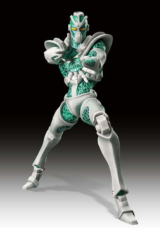 "Hierophant Green first appears in Part 3 of Jojo's Bizarre Adventure, Stardust Crusaders, as the ""Stand"" of student Noriaki Kakyoin. This chapter features Jotaro Joestar, the grandson of the protagonist of Part 2, Joseph Joestar. Stardust Crusaders is the first chapter to introduce the concept of Stands, which are the representation of an individual's spiritual power. The Stand hovers behind the u..."