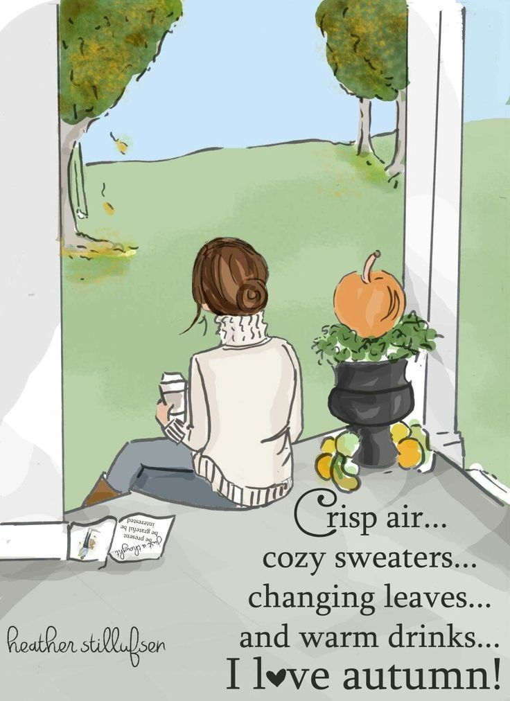 Crisp air....cozy sweaters...changing leaves...and warm drinks ...I love Autumn!