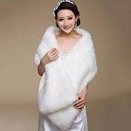 piel envuelve los mantones de la boda caliente de piel sintética – CAD $ 16.67