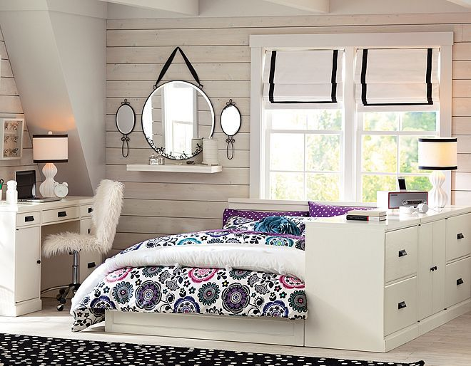 PB Teen Girls Bedroom Pb Rooms Pinterest
