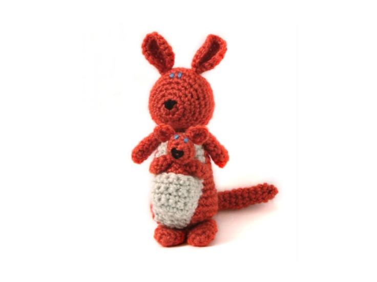 Amigurumi Kangaroo : 101 best images about Crochet - Kangaroos And Koalas ! on ...