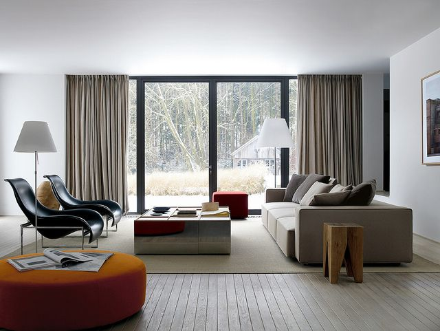 Modern Design Sofa Conne : contemporary black design contemporary modern sofa designs living room ...