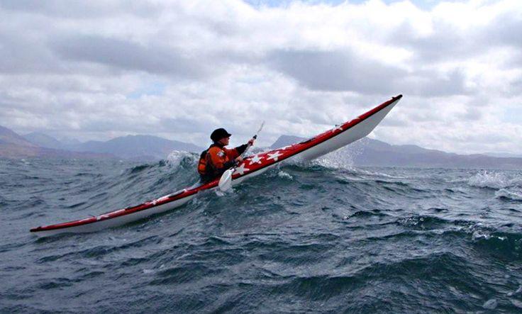 Kayaking off the west coast of Scotland pic. SSLKC