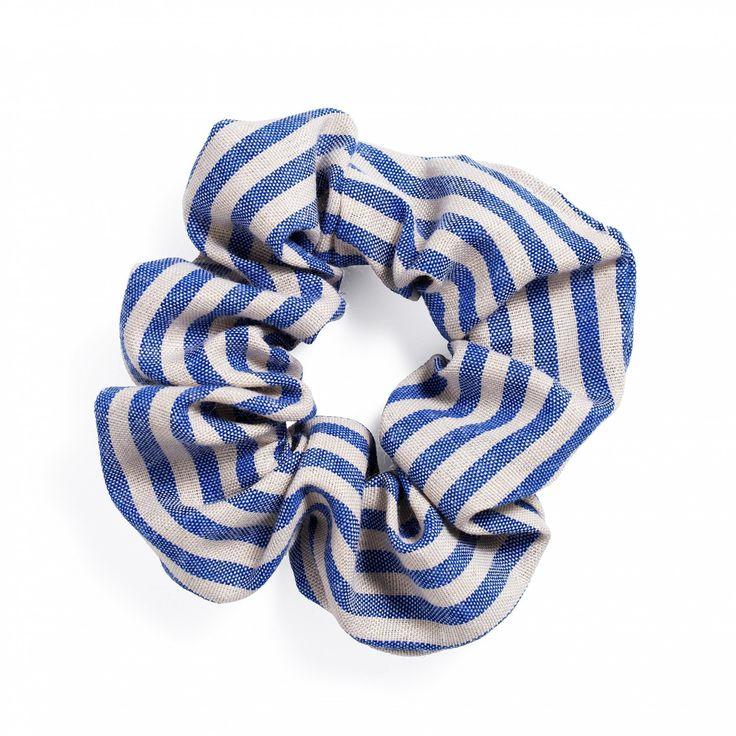 Scrunchie, stripete - Scrunchies - Hårtilbehør - Hårprodukter - Shop