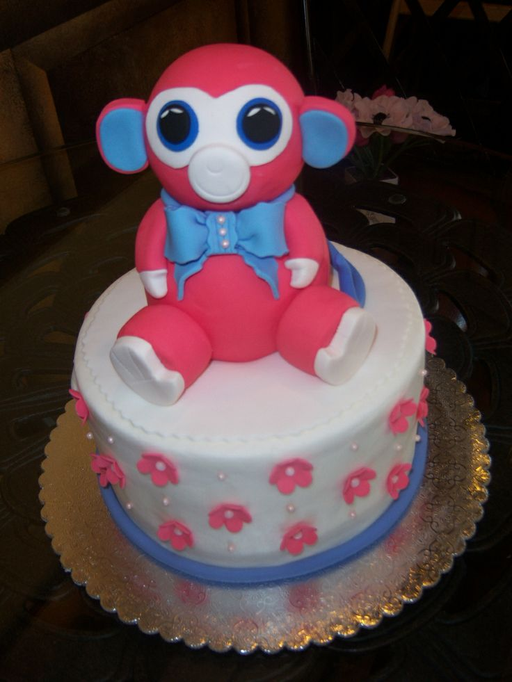 7 Best Beanie Boo Cakes Images On Pinterest Beanie Boo