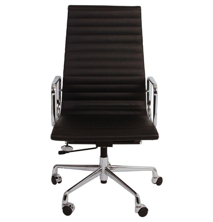 The Matt Blatt Replica Eames Group Aluminium Chair CF Premium by Charles