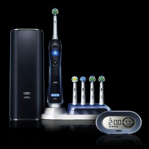 Check out the new Oral-B 7000 electric toothbrush