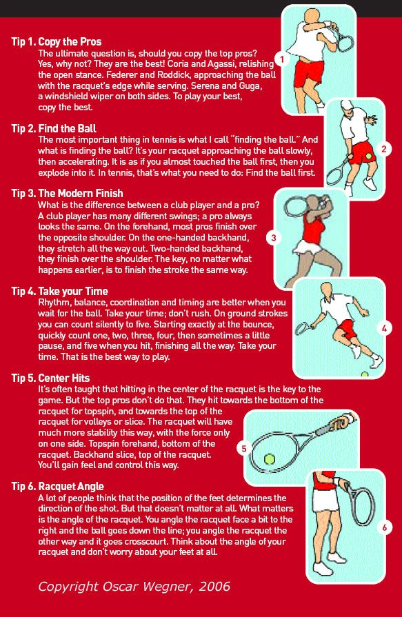 Tennis tips to improve your game!