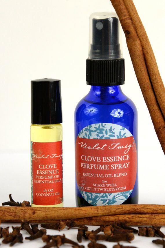 Organic Clove Perfume Essential Oil by VioletTwigAromatics
