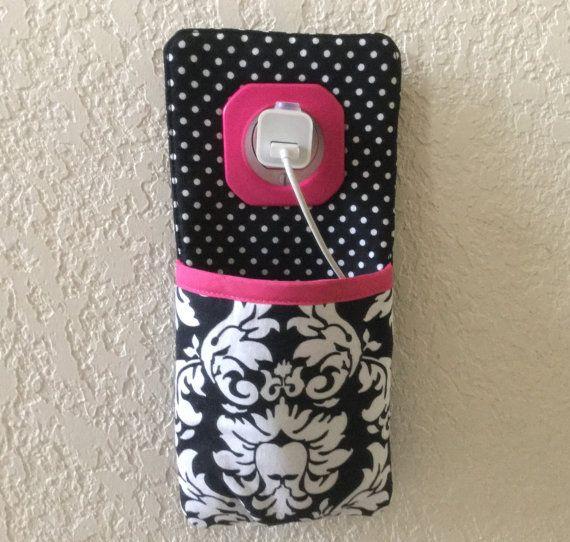 iPhone, iPod Touch, elegante teléfono Docking Station / soporte del enchufe de la pared / sostenedor del cargador del iphone ** DANDY Damasco **